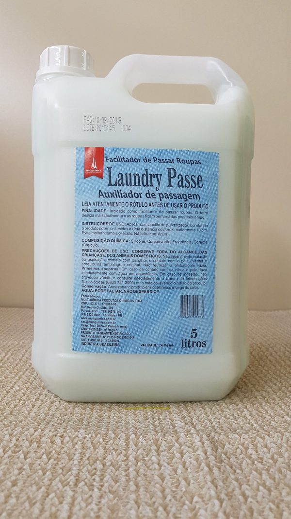 Laundry Passe - Auxiliador de Passagem de Roupa